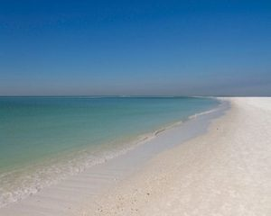Siesta Key Beach and its white sand